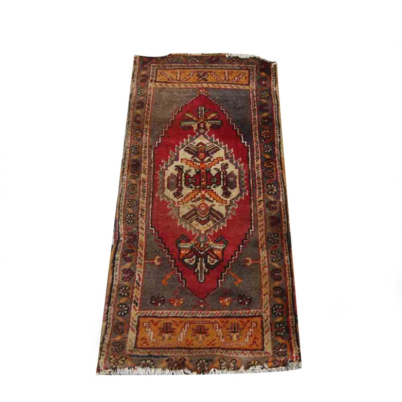 Persian Hand Woven Bakhtiari Style Wool Area Rug Ebth: Antique Area Rugs And Accent