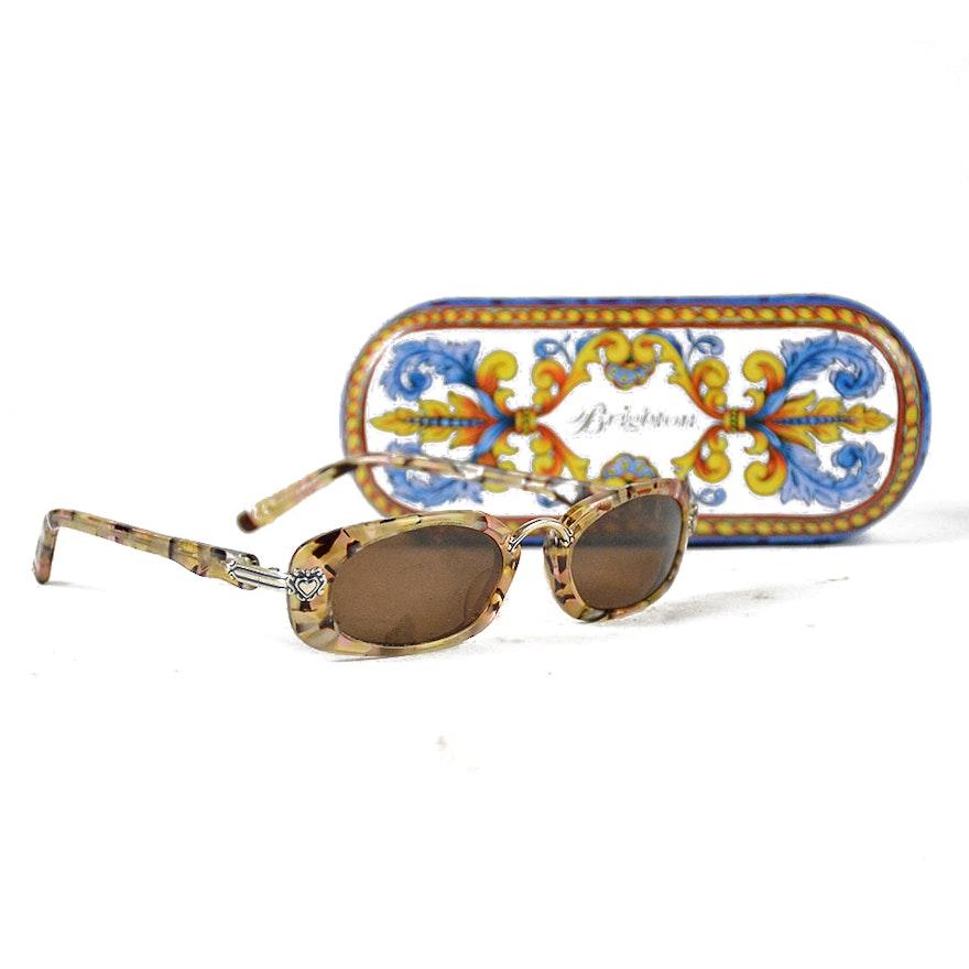fb12791754 Brighton Romeo and Juliet Sunglasses with Case   EBTH