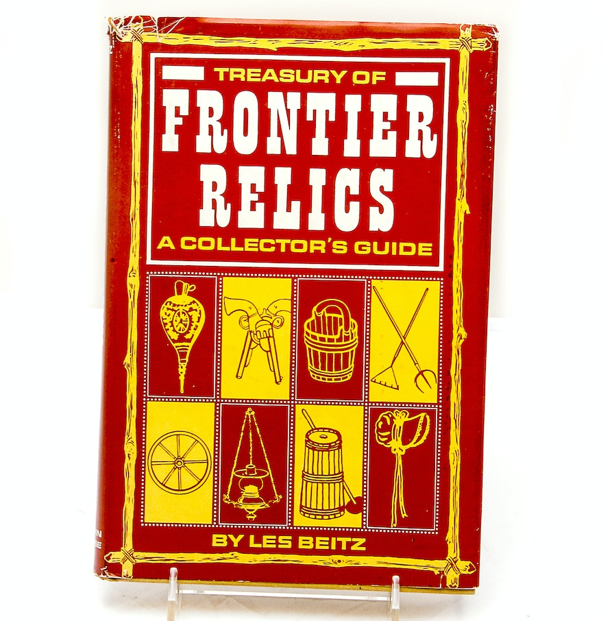 Image for Treasury of frontier relics;: A collector's guide,