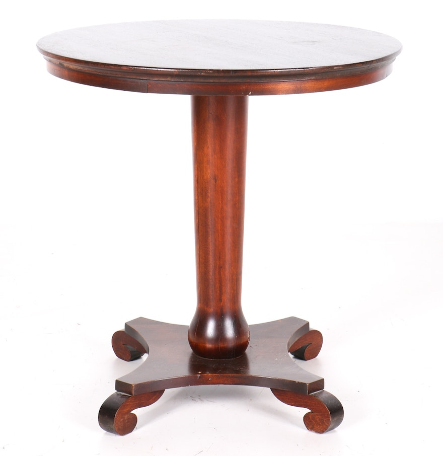 Empire style accent table ebth for 12 x 12 accent table