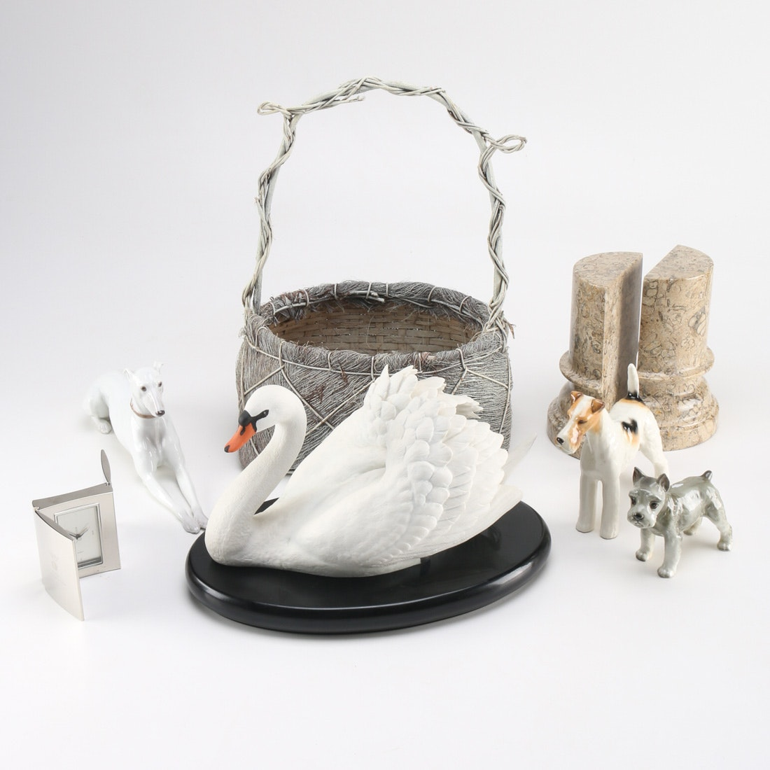selection of figurines and home decor ebth