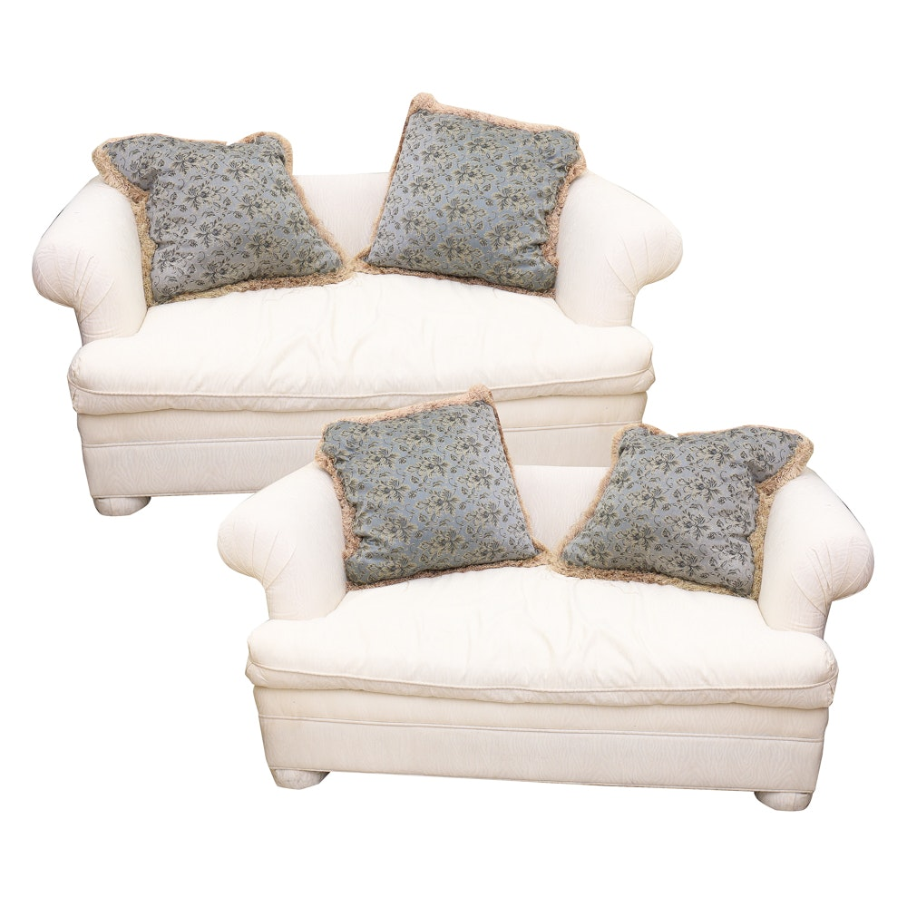 Charmant Pair Of Custom Furniture Expressions Settees ...