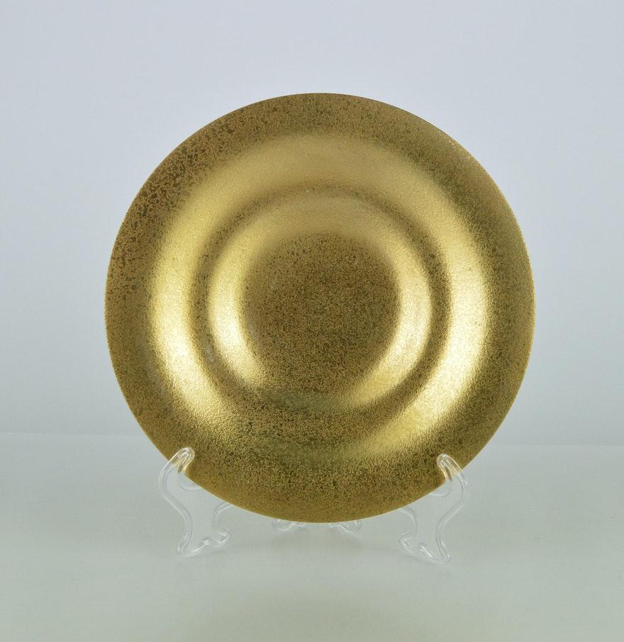 Vintage Brass Plate 10