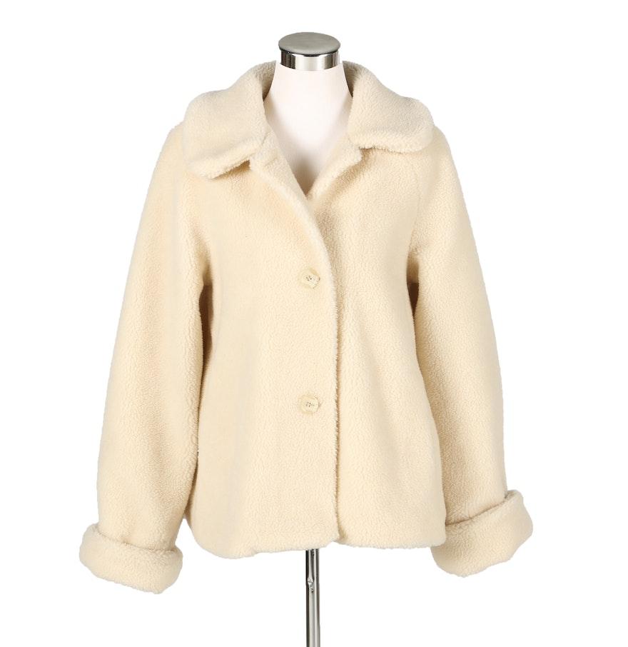Orvis Cream Fleece Jacket : EBTH