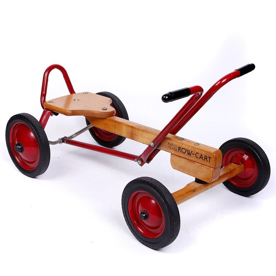 Radio Flyer Row Cart Riding Toy Ebth