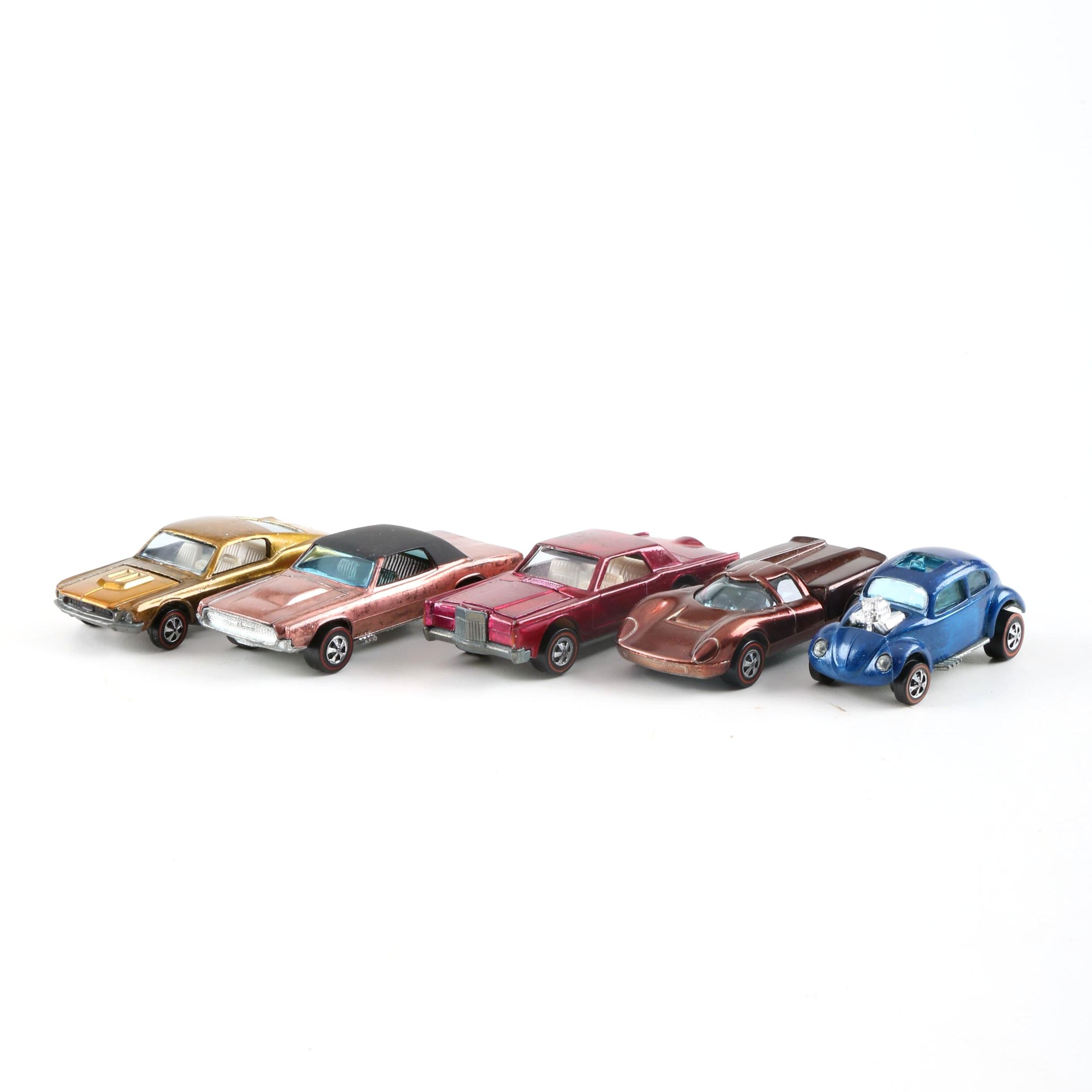 1968–1970 Mattel Hot Wheels Redline Cars