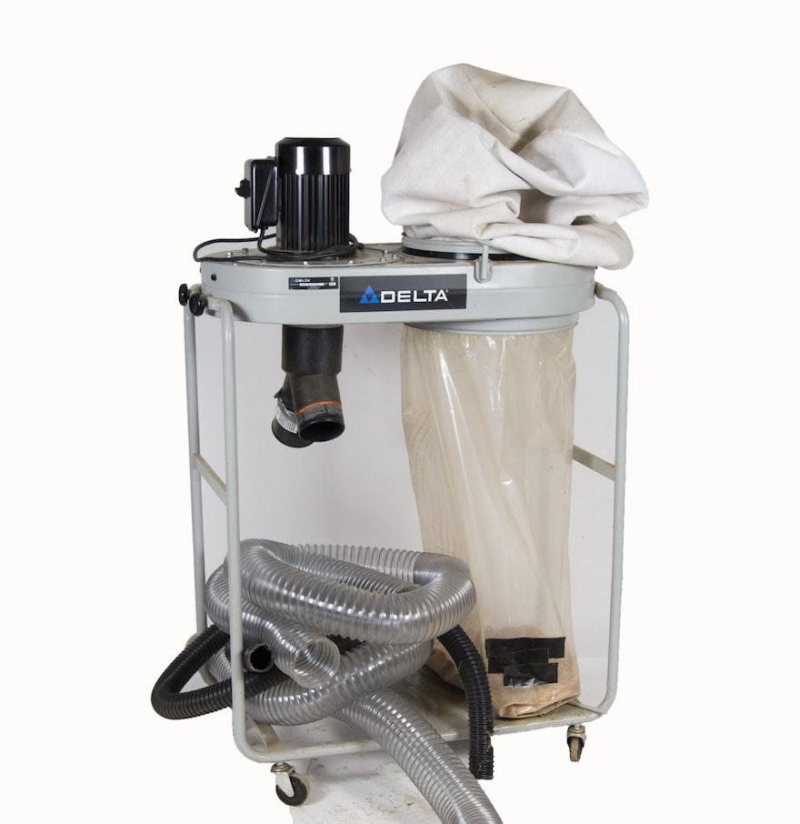 Delta Model 50-760 1-1/2 HP Dust Collector on Wheels : EBTH