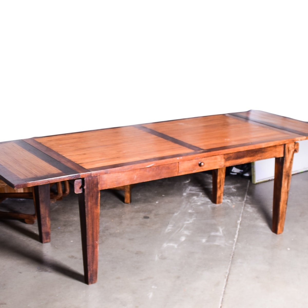 Dining Room Table For 2: Dining Room Table With Two Extension Leaves : EBTH