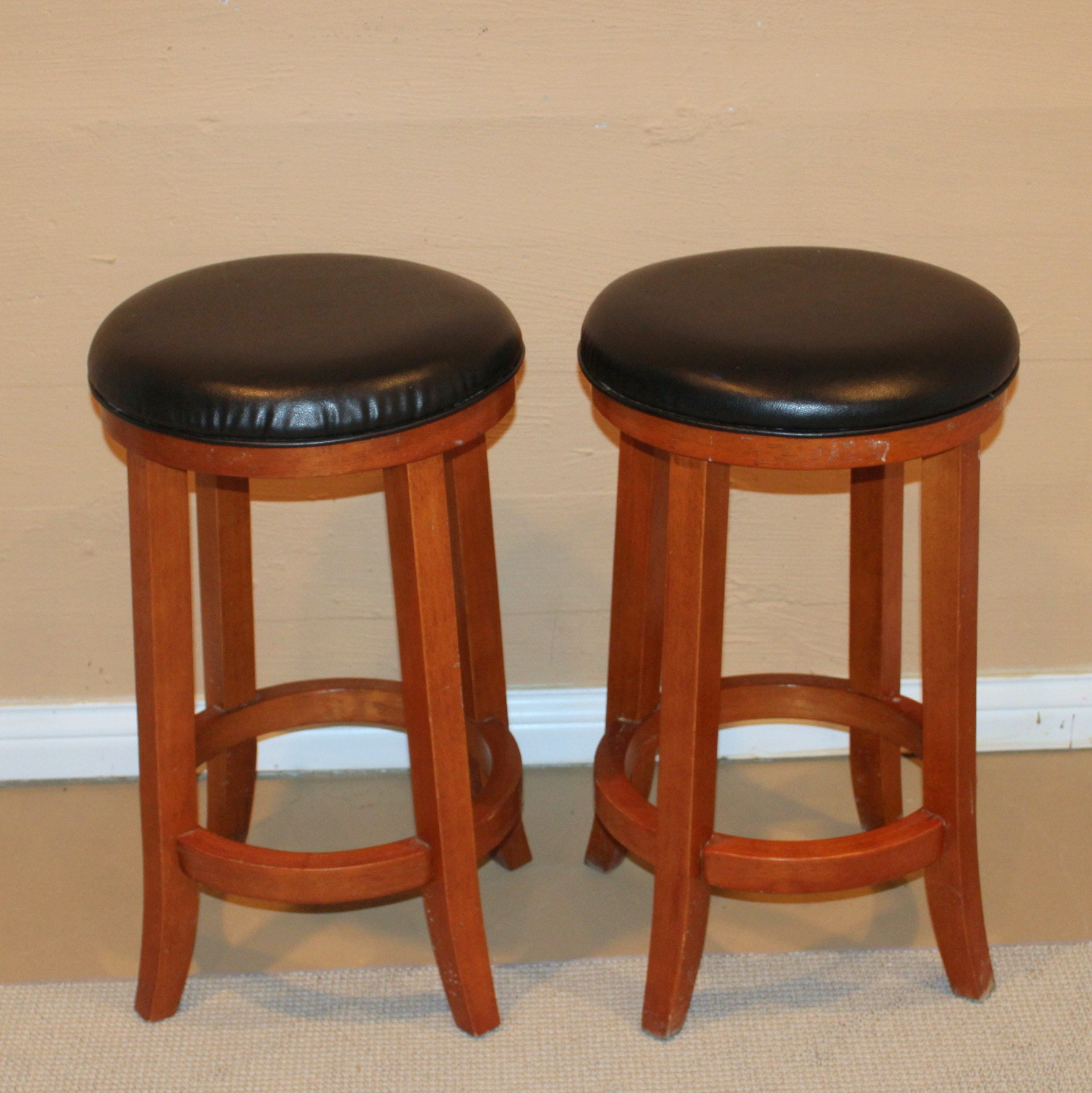100 Home Styles Nantucket 24 In Maple Bar Stool 5055 88