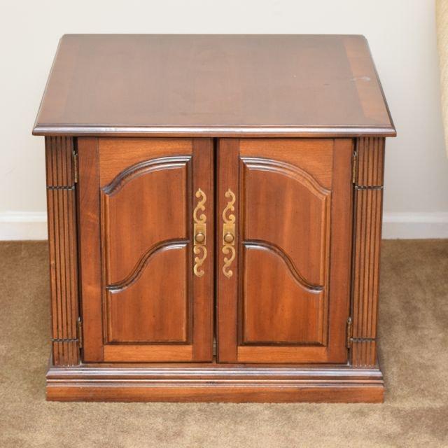 Lane Furniture Walnut Side Table ...