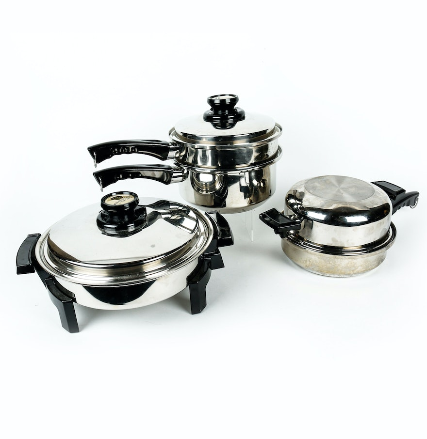 set of kitchen craft cookware ebth