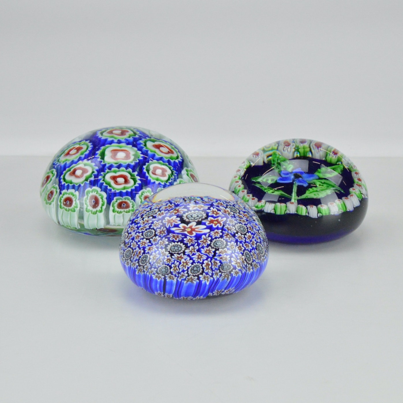 Murano glass paperweights for sale