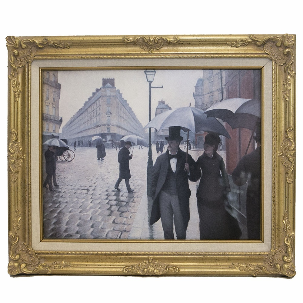 """gustave caillebotte paris street rainy day essay Explanations for selecting the aforementioned show-stopper i did choose gustave caillebotte's painting """"paris street: rainy day"""" because it is representative."""