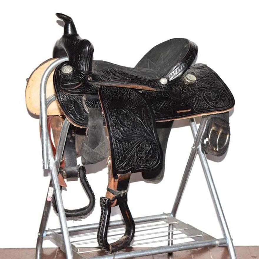 16 Saddle King Of Texas Western Saddle Ebth