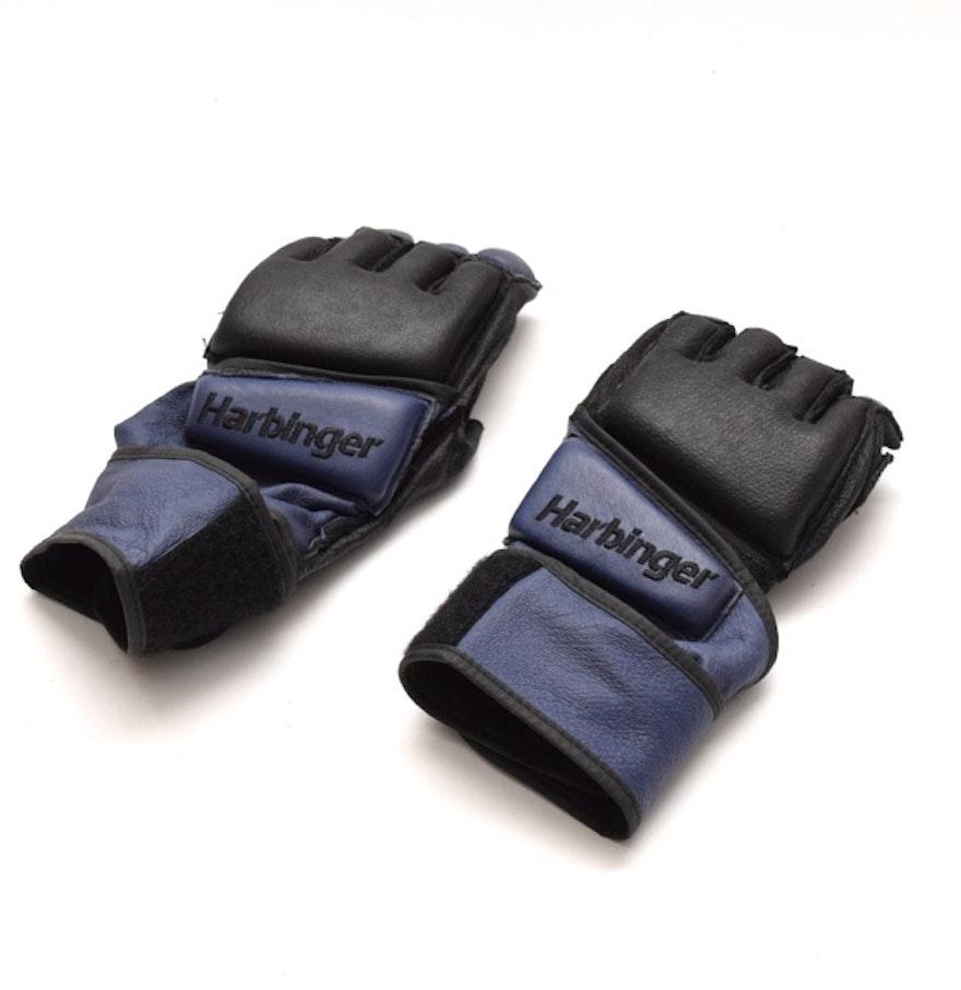 Harbinger Womens Wristwrap Gloves: Harbinger Women's Wristwrap Kickboxing Gloves : EBTH