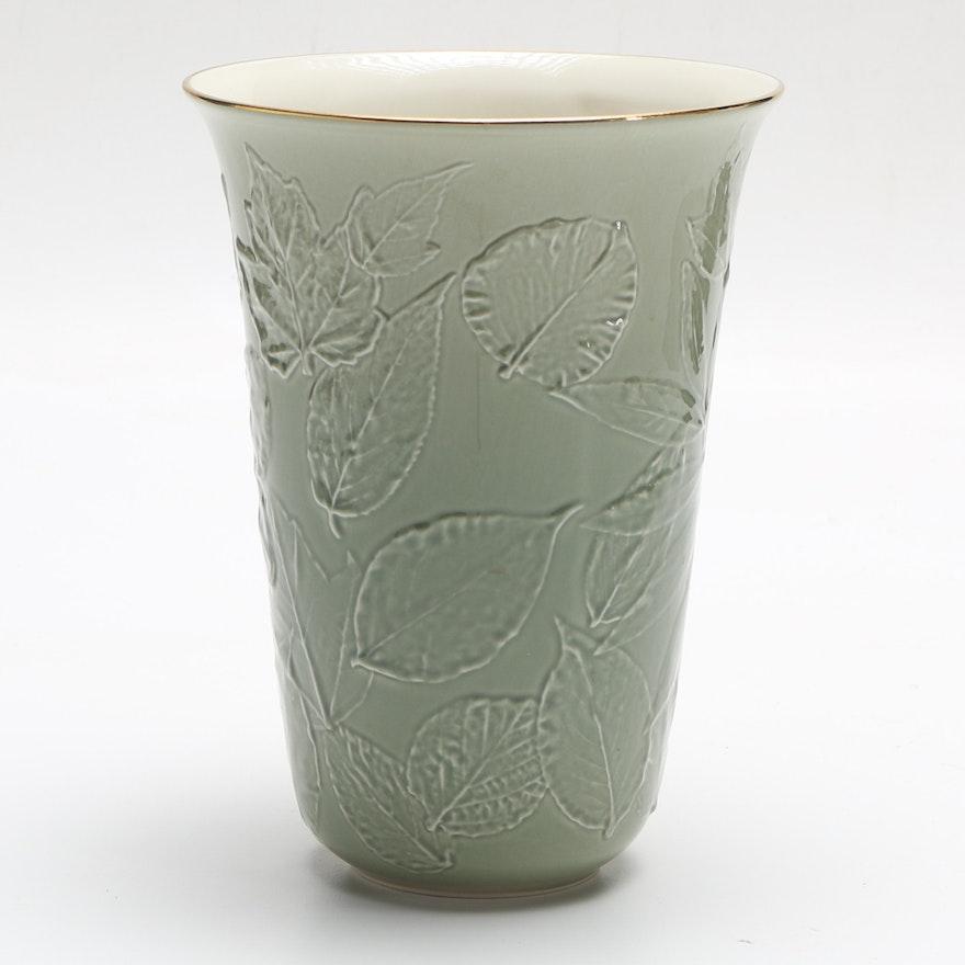 Ceramic Natures Impressions Lenox Vase Ebth