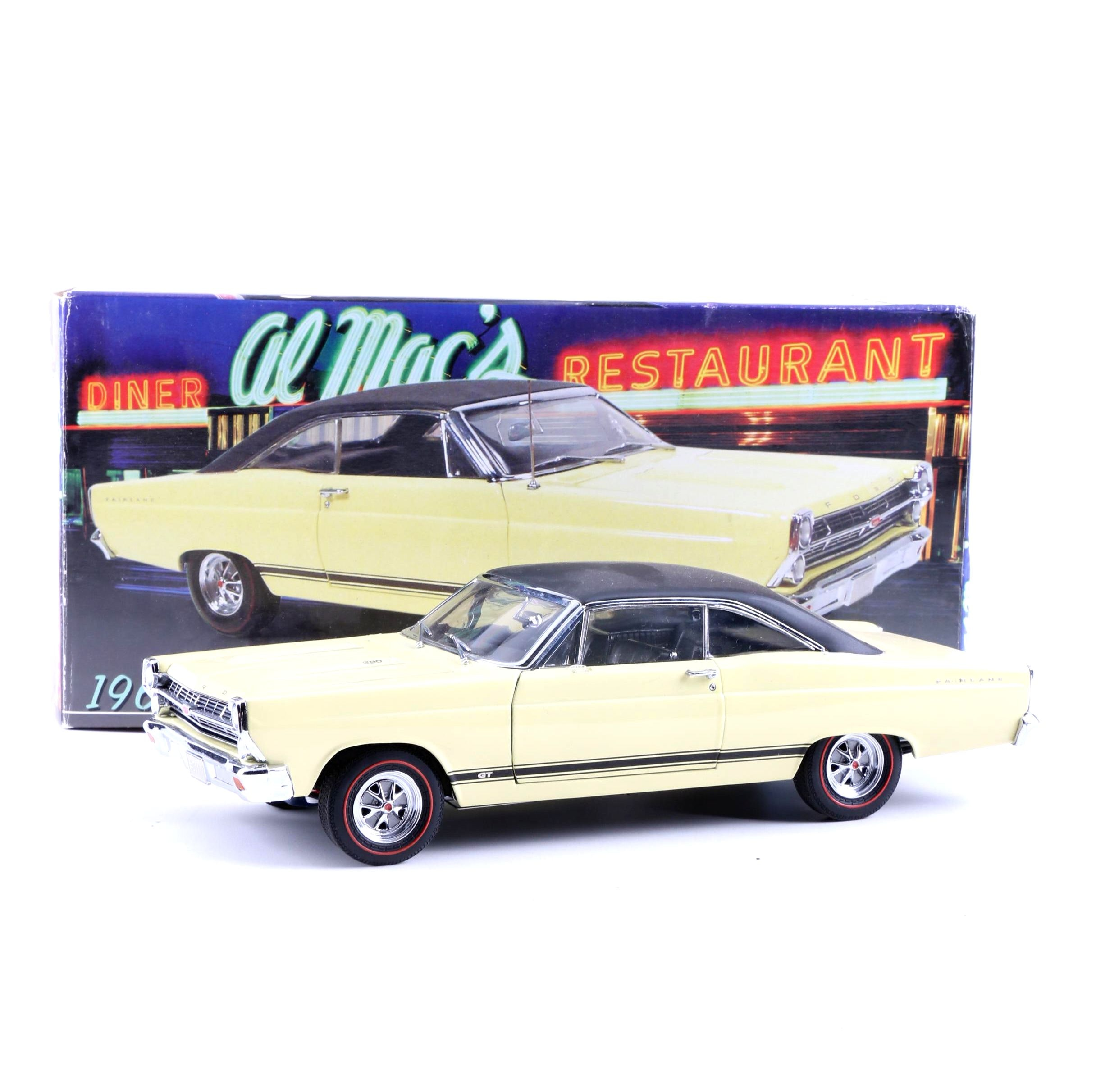 GMP 1967 Ford Fairlane GT Die-Cast Car