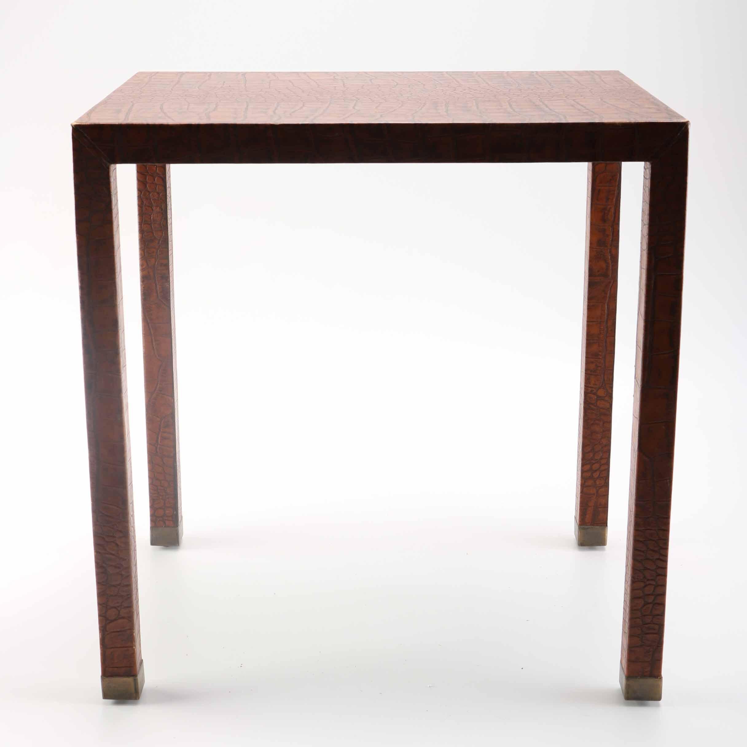 Repurposed Water Heater Side Table Ebth