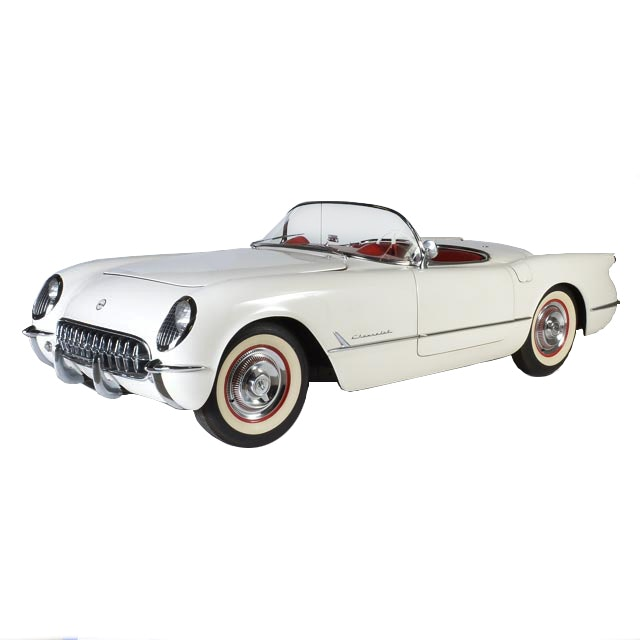 1954 Polo White Chevrolet Corvette Convertible