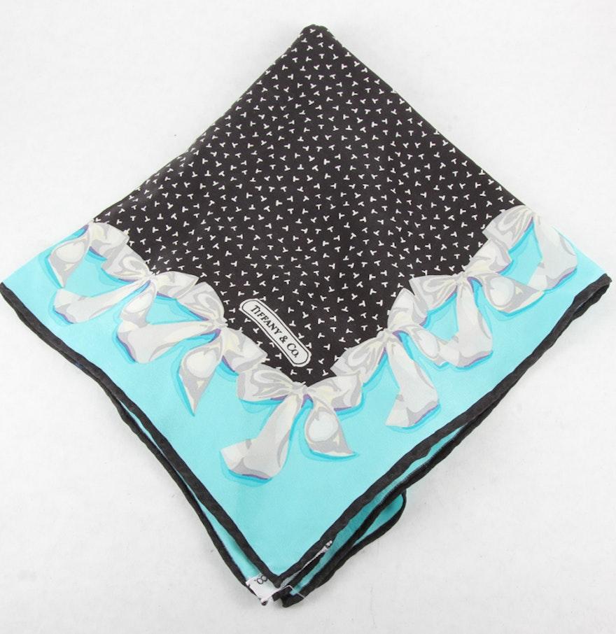 Tiffany & Co Silk Scarf : EBTH