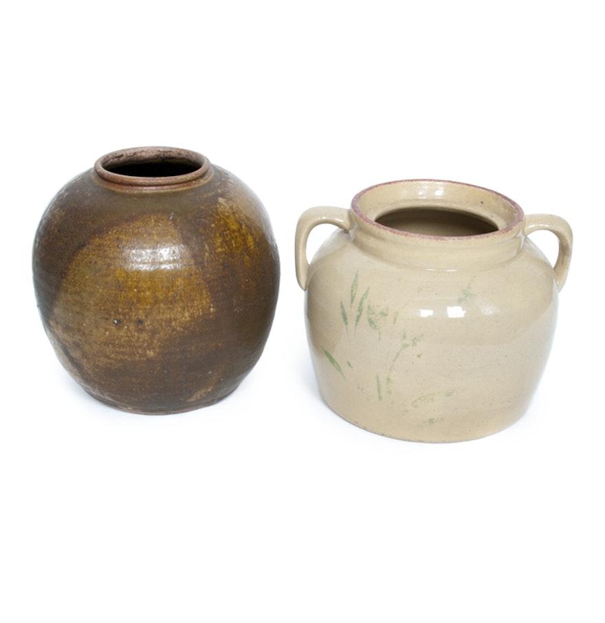 2 awesome pottery vases handmade home idea handmade pottery vases ebth reviewsmspy