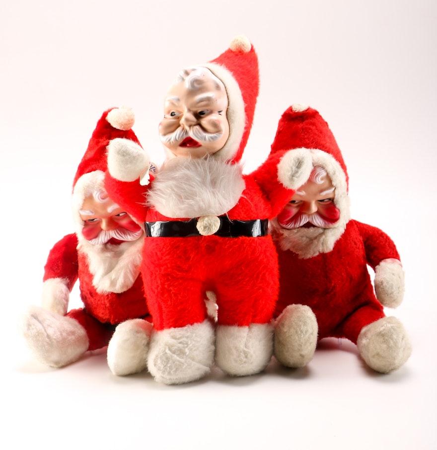 Santa Claus Toys : Santa claus plush toys ebth