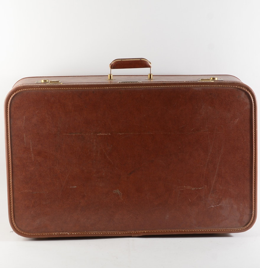 Vintage Lady Baltimore Suitcase Ebth