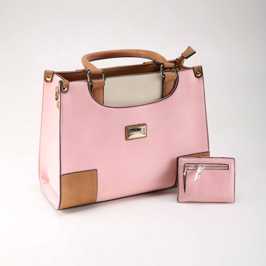 Simply Noelle Handbag With Matching Wallet
