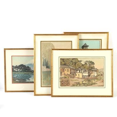 Horishi Yoshida Woodblock Prints