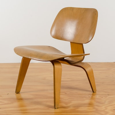 1950s Charles and Ray Eames for Herman Miller LCW Chair