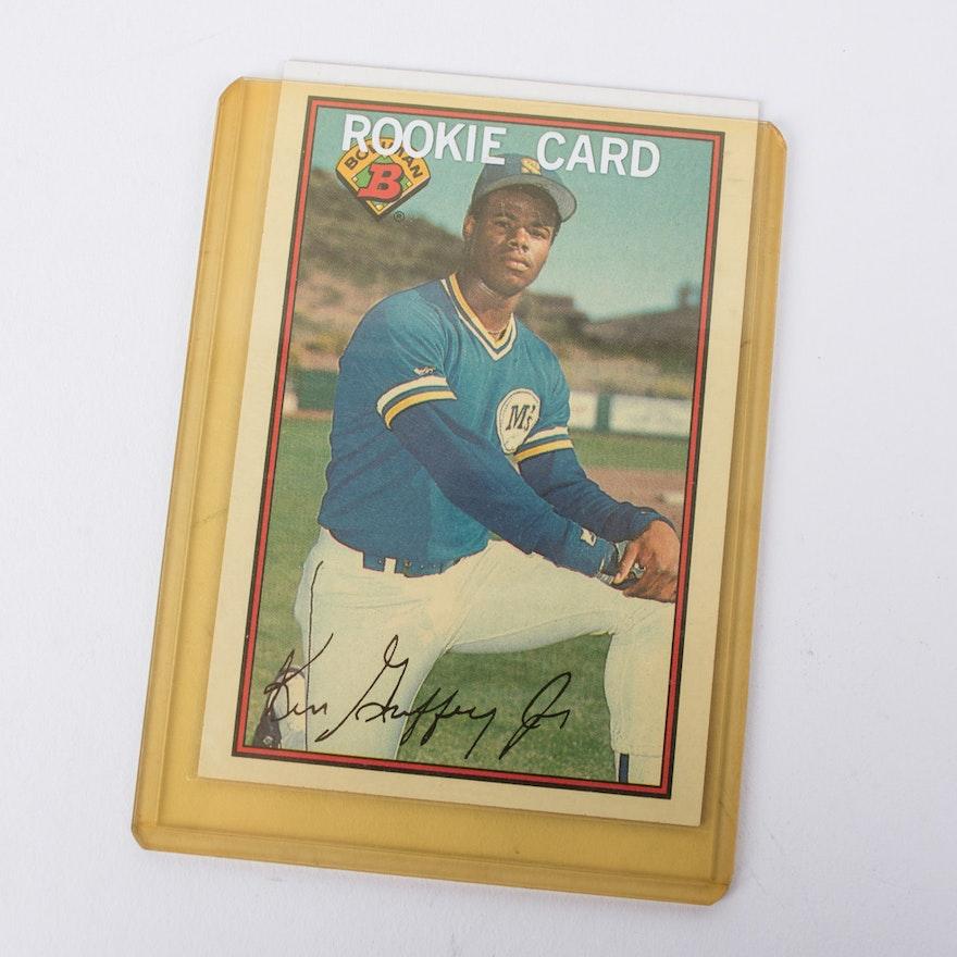 1989 Bowman Ken Griffey Jr 220 Rookie Card