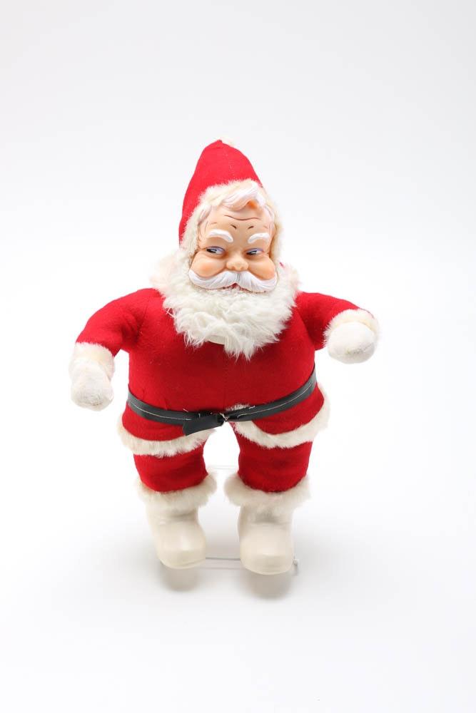 Circa 1950s Rushton Coca-Cola Santa Claus Dolls  EBTH