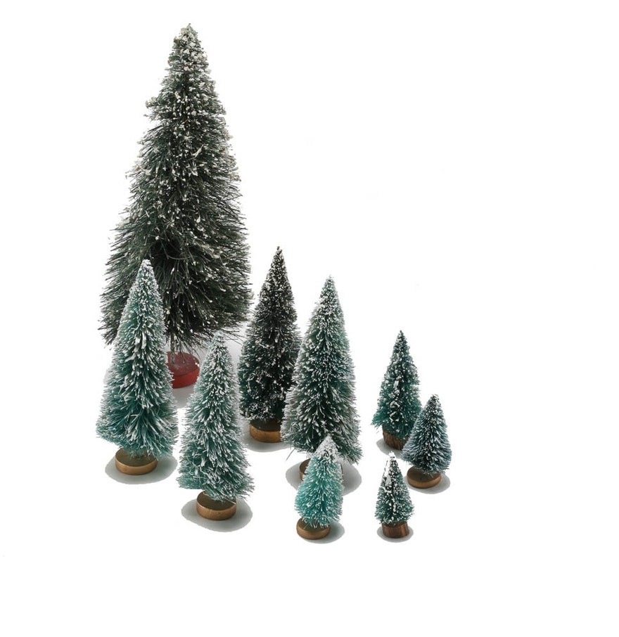 Assortment of christmas tree figurines ebth for Christmas tree items list