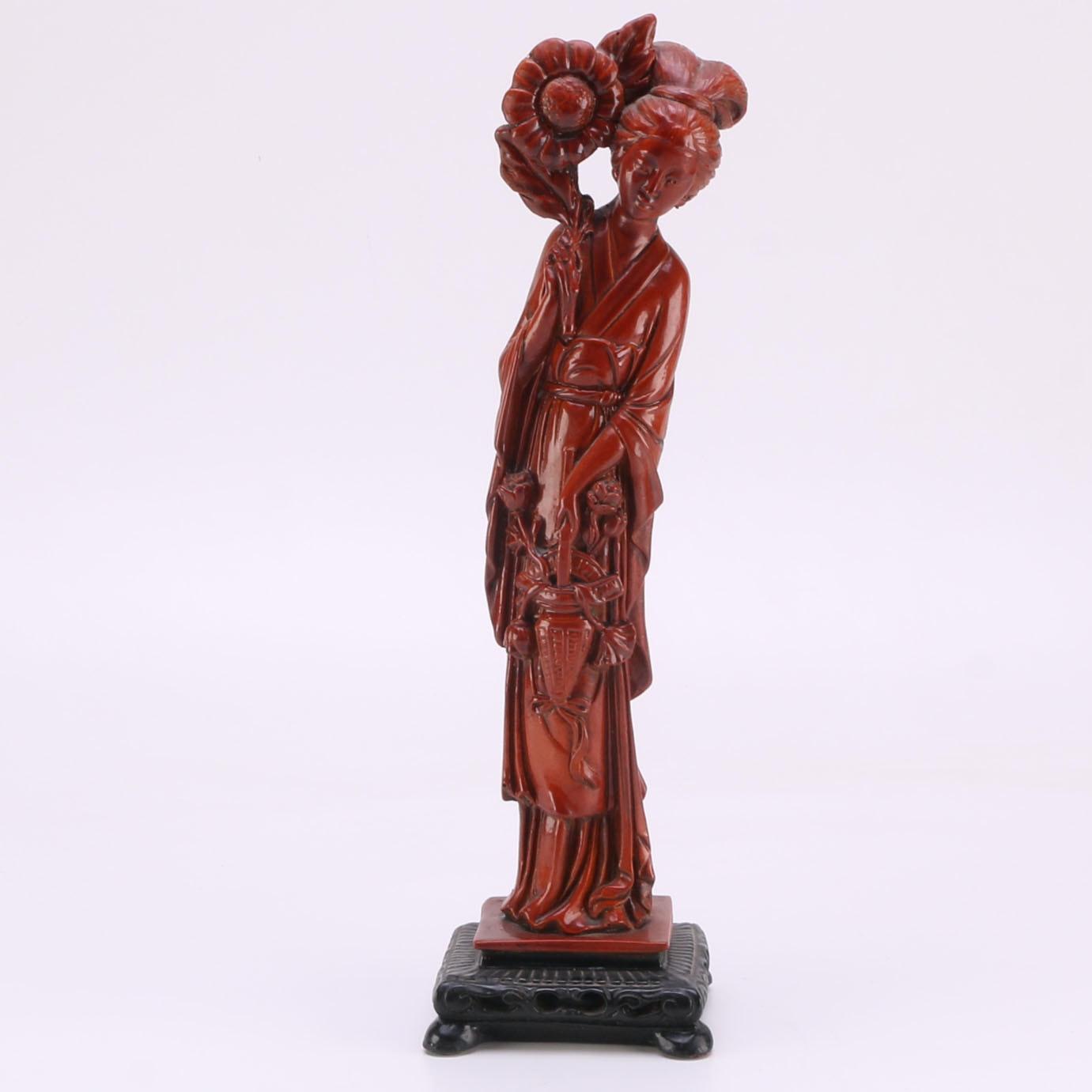 Ceramic Chinese Figurine