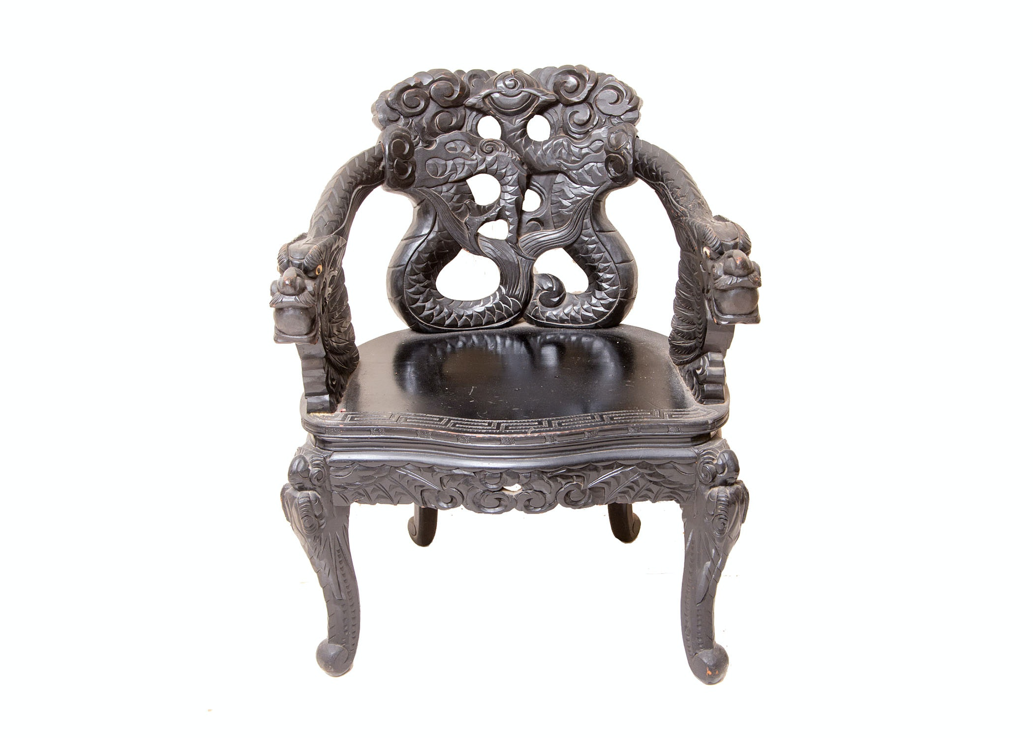 Early 20th Century Chinese Export Armchair