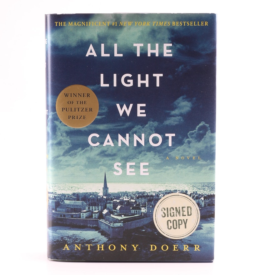 Signed Copy Of All The Light We Cannot See Book Ebth