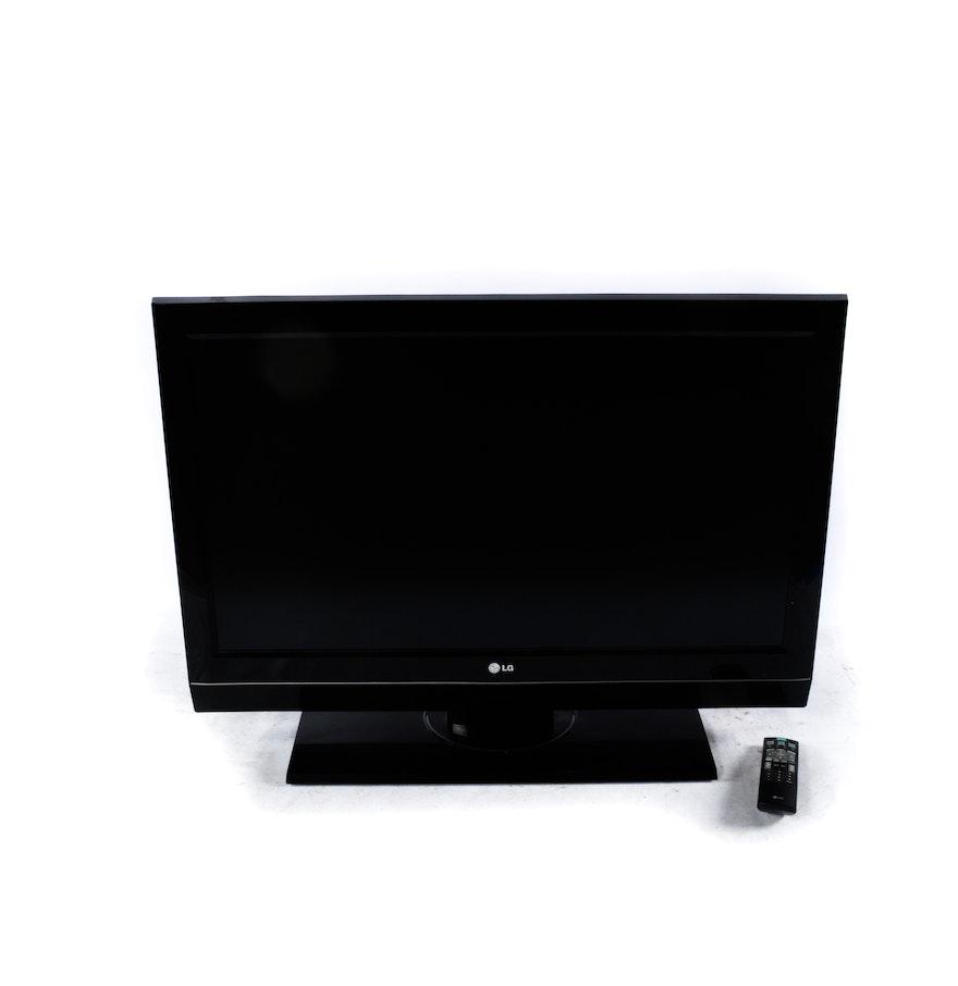 "LG Flat Screen 42"" Television : EBTH"