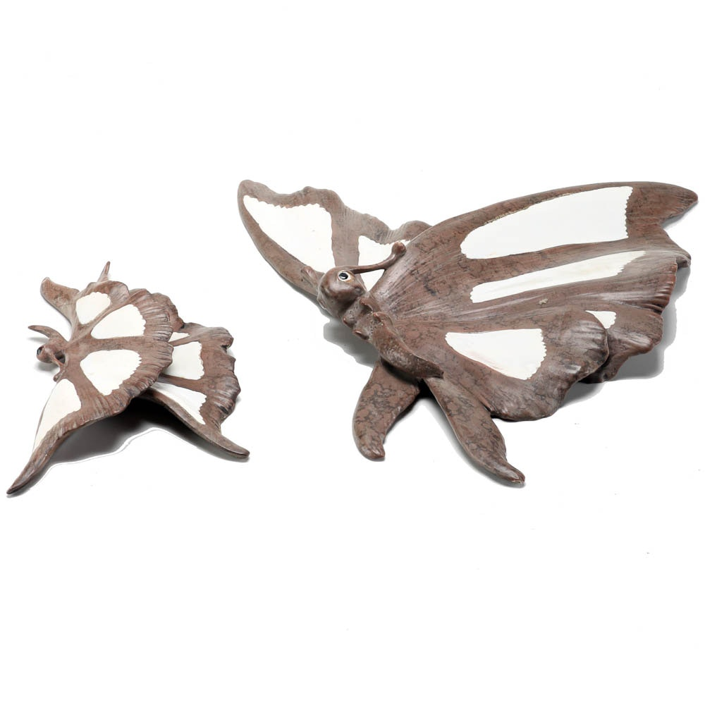 Ceramic Butterfly Wall Decorations