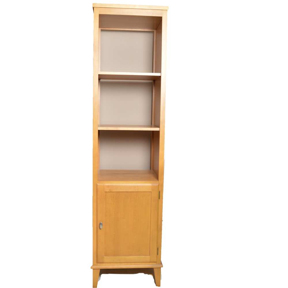 Ethan Allen Maple Display Shelf