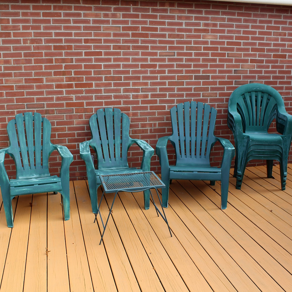 Lifetime Adirondack Patio Chair EBTH