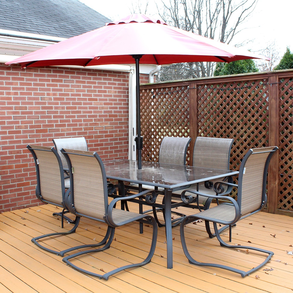 Hampton Bay 8 Piece Patio Set ...