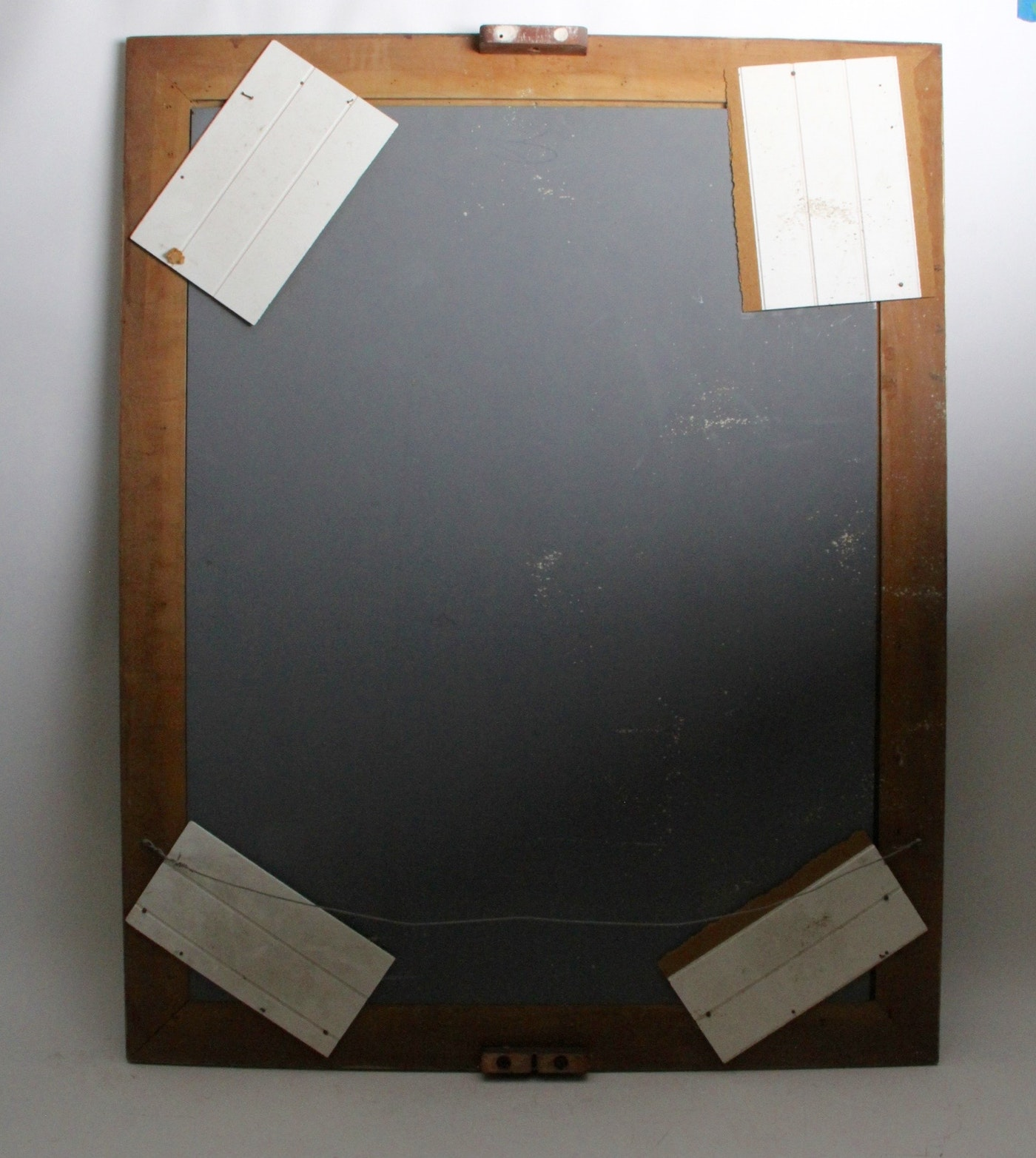 Vintage gold toned wall mirror ebth for Mirror 34 productions