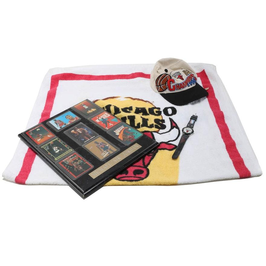 257ee748a Chicago Bulls Memorabilia Including Steve Kerr Autographed Hat   EBTH