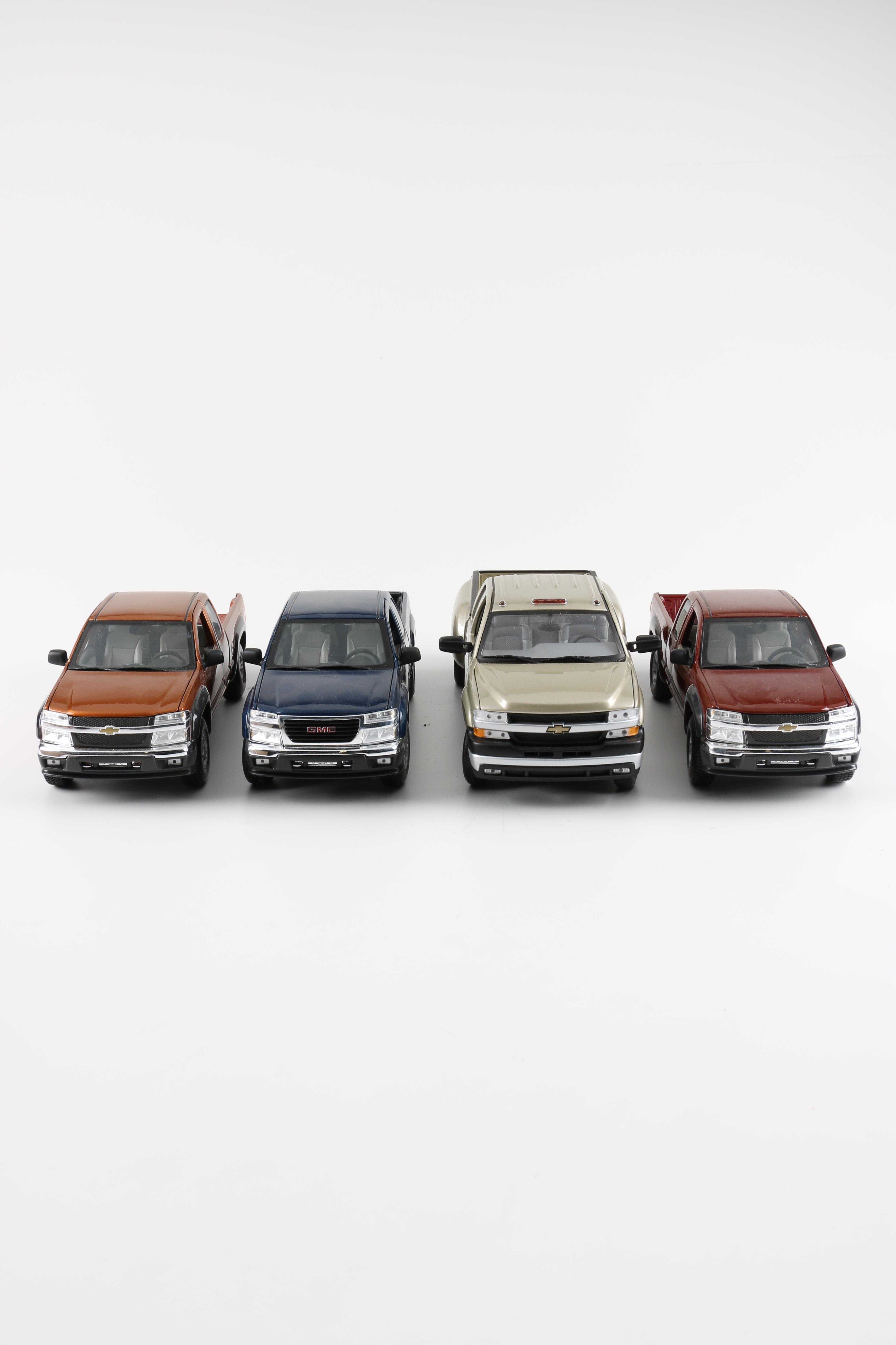 Die-Cast Chevrolet Pickup Trucks