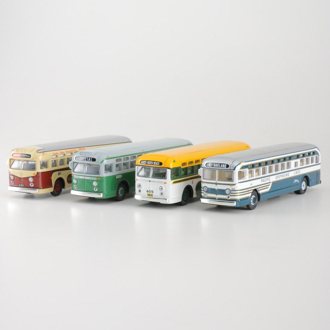 Die-Cast Buses by Corgi Toys