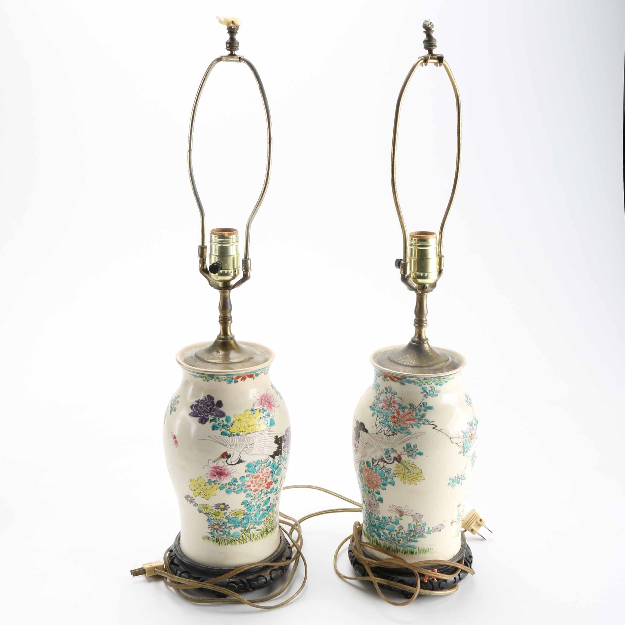 Pair of Chinese Table Lamps