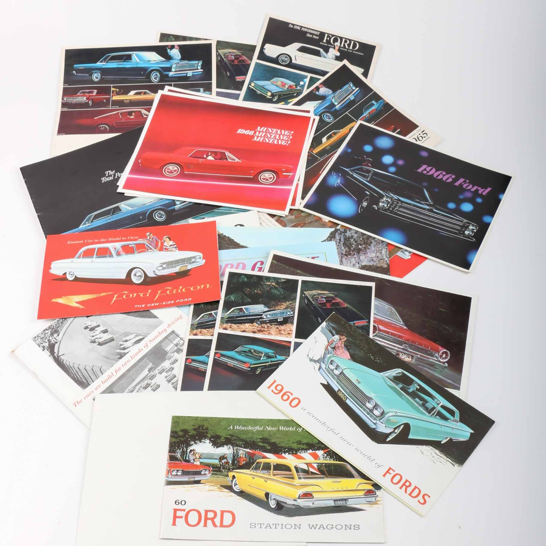 1960s Ford Dealership Brochures
