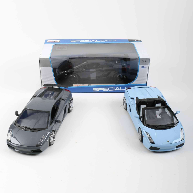 Lamborghini 1:18 Scale Die-Cast Cars