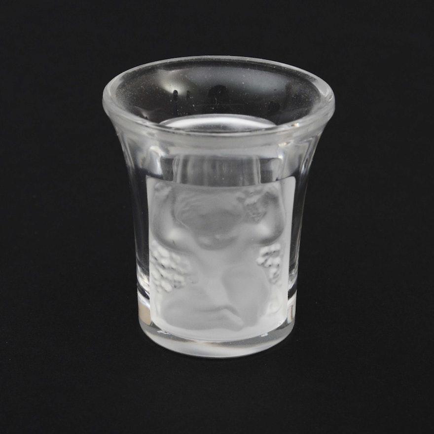 Lalique Crystal Miniature Bud Vase Ebth