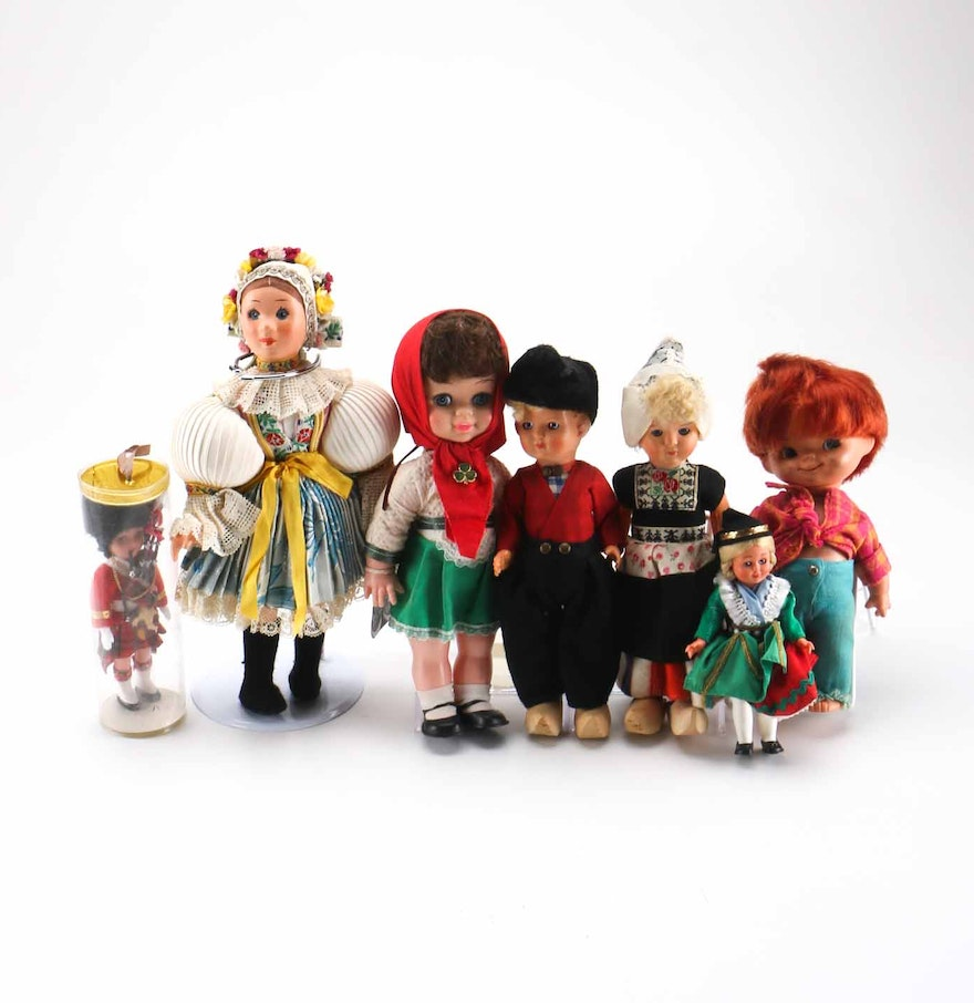 Collection of international dolls ebth for International collection